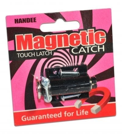 Handee Magnetic Catch Touch Latch White Magnets Nz