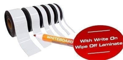 Write On Wipe Off Labelmag Strip