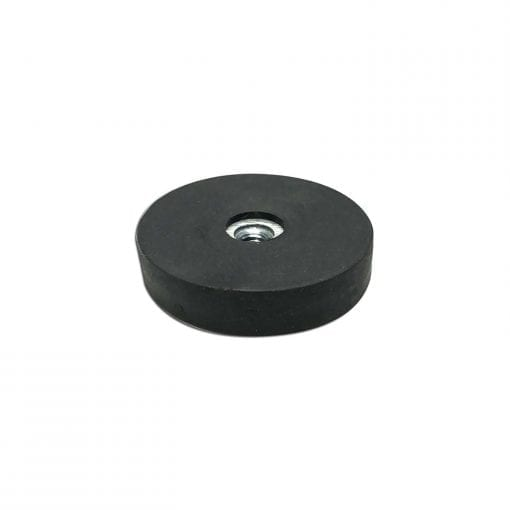 31mm Female Rubber Encased Holding Magnet