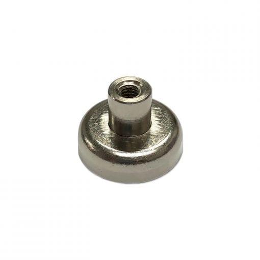 CAPN20F - 20mm x 6mm Neodymium Female Threaded Pot