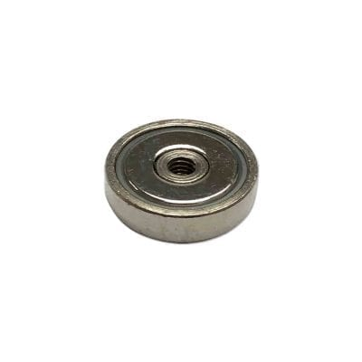 POTIT20 - 20mm x 6mm Neodymium Pot With Internal Thread