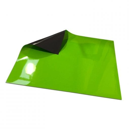 Light Green Write On Wipe off Magnetic Sheeting
