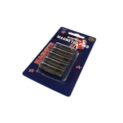 Black Neodymium Pin Magnets