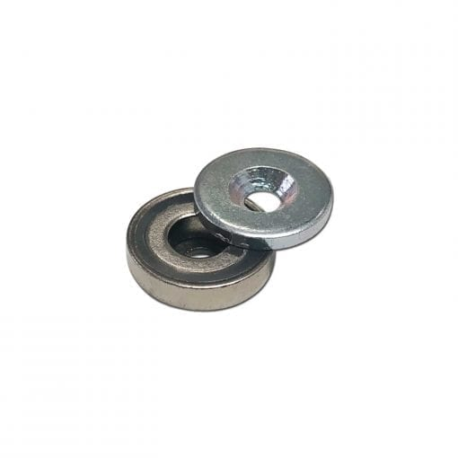 16mm Pot Magnet with 15mm Steel Keeper