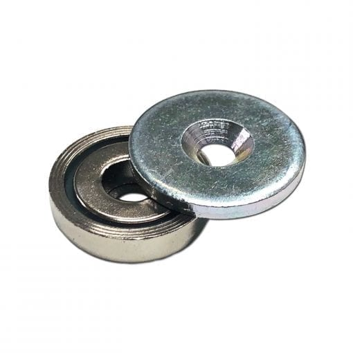 25mm Pot Magnet with 27mm Steel Keeper